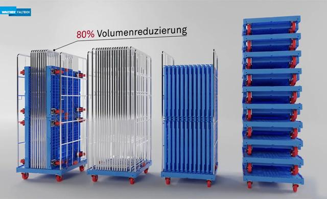 German Design Award 2021: Lagerung des Rollcontainers